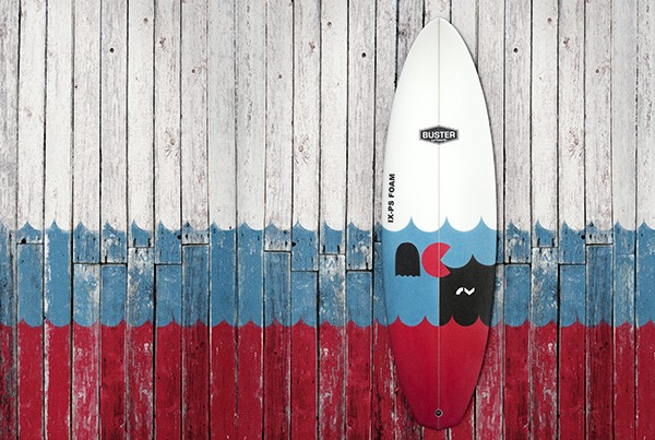 "Buster ""PACMAN"" Super Limited Edition Surfboard"
