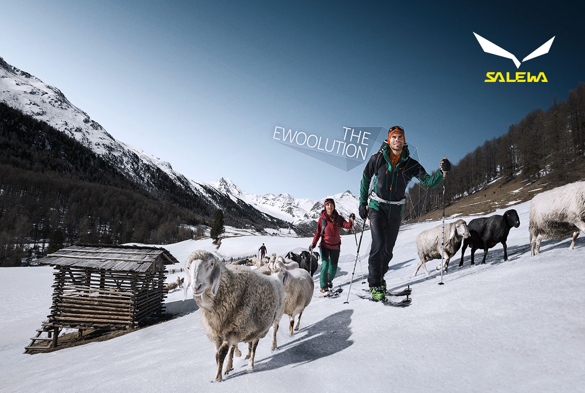 Salewa Ewoolution Campaign