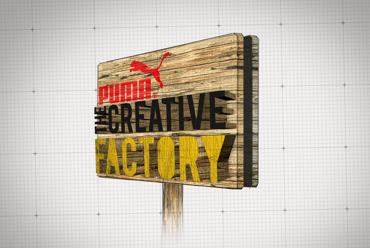 Puma Creative Factory Concept Sketches