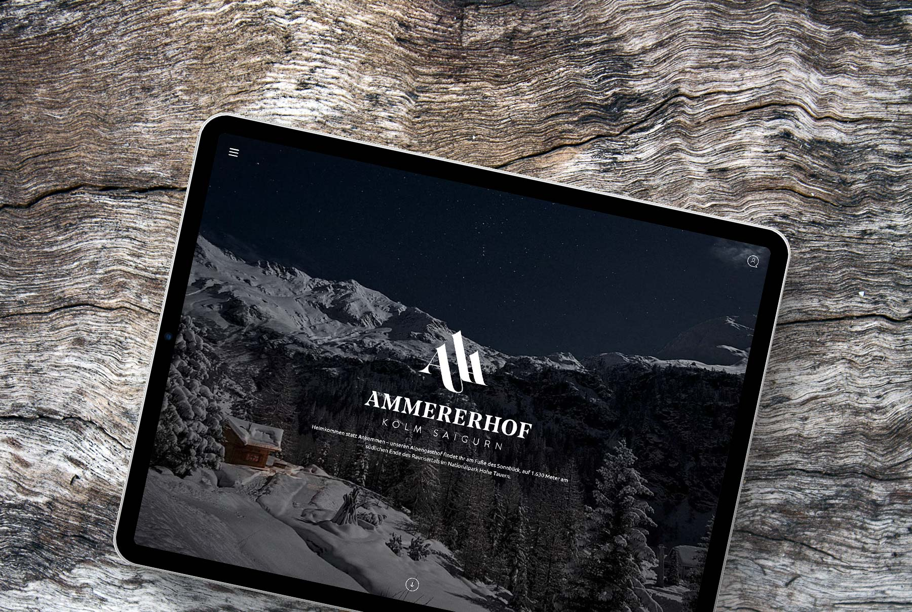 Website Ammererhof